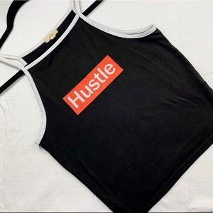 5/15$ Ardene Super Soft Cropped Hustle Halter Cami